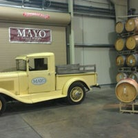 Photo taken at Mayo Family Winery by Laura W. on 3/23/2012