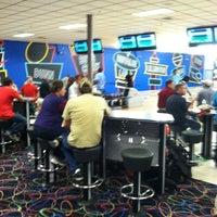 Photo taken at Buffaloe Lanes Erwin Bowling Center by Ricky B. on 3/21/2012