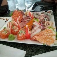 Photo taken at Manga Sushi by Felipe G. on 2/29/2012