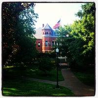 Photo taken at University of North Carolina at Greensboro by Greensboro, NC (@greensboro_nc) on 5/26/2012