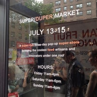 Photo taken at SUPER(DUPER)MARKET by Marc on 7/15/2012