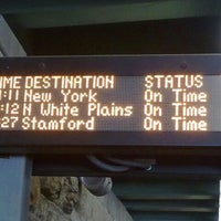 Photo taken at Metro North - Fordham Train Station by Invisible on 6/8/2012