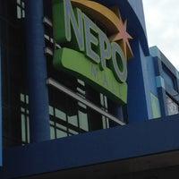 Photo taken at Nepo Mall Dagupan by Marlo I. on 3/29/2012
