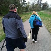 Foto tirada no(a) Milford- Kensington Trail por Mike A. em 4/1/2012