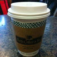 Photo taken at Peet's Coffee & Tea by Bob C. on 3/17/2012