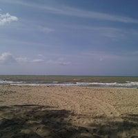 Photo taken at Pantai Sri Tujoh by Christopher C. on 6/1/2012