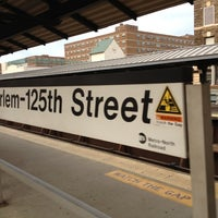 Photo taken at Metro North - Harlem - 125th Street Station by Theda S. on 6/24/2012
