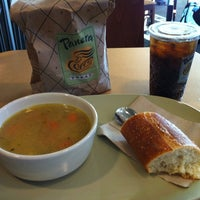 Photo taken at Panera Bread by Lindsay on 6/15/2012