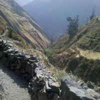 Photo taken at Catarata De Antakallo by Alfred K. on 9/1/2012