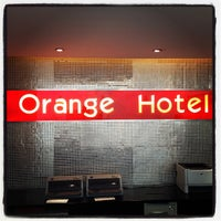 Photo taken at Orange Hotel by Ryan S. on 5/26/2012