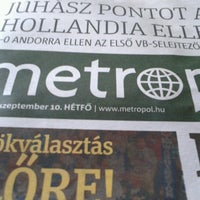 Photo taken at Dél-Budai TISZK by Balázs S. on 9/10/2012