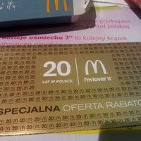 Снимок сделан в McDonald's пользователем Arek Ł. 8/24/2012