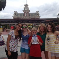 Photo taken at Walt Disney World Railroad - Main Street Station by Mike R. on 6/8/2012
