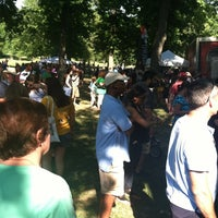 Photo taken at Food Truck Friday @ Tower Grove Park by Lacey P. on 6/8/2012