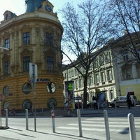 Photo taken at Sparkassaplatz by Anna Genial L. on 3/21/2012