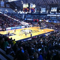 Photo taken at Hinkle Fieldhouse by Matt M. on 3/10/2012