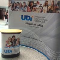 Photo taken at Universitaria de Investigación y Desarrollo UDI by Andrés M. on 4/10/2012