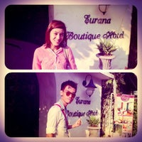 Photo taken at Eurana Boutique Hotel by TaM A. on 4/13/2012