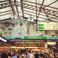 Photo taken at Ueno Station by c50cub96 on 7/21/2012