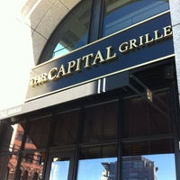 Photo taken at The Capital Grille by Jeffrey G. on 3/22/2012