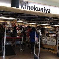 Photo taken at Books Kinokuniya by Alex O. on 3/24/2012