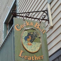 Photo taken at Cock & Bull Leather Shop by Clinton H. on 5/28/2012