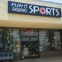 Photo taken at Play It Again Sports by TravisCountyChainGang on 6/25/2012