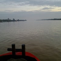 Photo taken at alur sungai mahakam samarinda by Fery N. on 7/24/2012