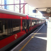 Photo taken at Estação São Caetano do Sul (CPTM) by Potiguar on 8/21/2012