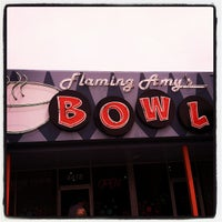 Photo taken at Flaming Amy's Bowl by Amy J. on 6/26/2012