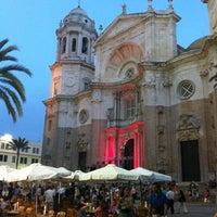 Foto tomada en Catedral de Cádiz por Ana Maria el 8/18/2012