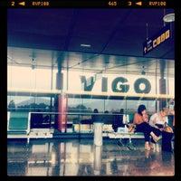 Photo taken at Aeropuerto de Vigo by Pablo F. on 6/6/2012