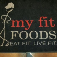 Photo taken at My Fit Foods by Dominic P. on 4/29/2012