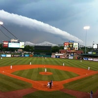Photo taken at Louisville Slugger Field by Brad H. on 7/28/2012