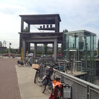 Photo taken at Voor de Bijen (gestapelde tafels) by Ad V. on 8/24/2012