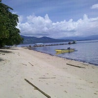 Photo taken at Pulau Siladen by MaLz P. on 4/20/2012