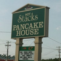 Photo taken at Hot Stacks Pancake House by Anthony K. on 7/8/2012