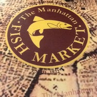 Photo taken at The Manhattan Fish Market by Corry T. on 5/1/2012