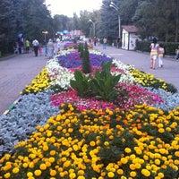 Photo taken at Городской парк культуры и отдыха им. М. Горького by Ольга К. on 7/26/2012