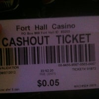 Photo taken at Fort Hall Casino by Christa D. on 8/8/2012