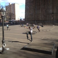 Photo taken at Coleman Playground Skatepark by Matt M. on 3/29/2012