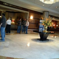 Photo taken at Indianapolis Marriott Downtown by Georgene H. on 4/11/2012