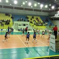 Photo taken at Ginásio Municipal Artenir Werner by Caroline M. on 8/31/2012