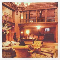 Photo taken at Fairmont Olympic Hotel by Hideki S. on 4/5/2012