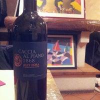 Photo taken at Osteria Fuori Porta by Dario L. on 3/10/2012