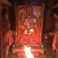 Photo taken at Godavari Dham Temple by Vishal G. on 5/29/2012