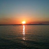 Photo taken at Akrolimano by Yannis D. on 8/25/2012