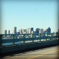 Photo taken at Maurice J. Tobin Memorial Bridge by Kevin J. on 6/15/2012