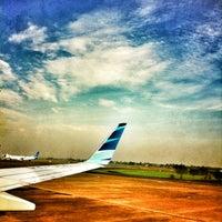 Photo taken at Mushola Terminal 2F by Pamor G. on 7/8/2012