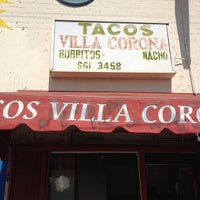 Photo taken at Tacos Villa Corona by Neil S. on 9/4/2012